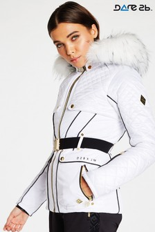 Dare 2b Julien Macdonald White Waterproof Indulgence Jacket