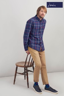Joules Brown Launde Slim Fit Chino
