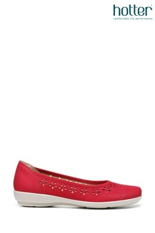 Hotter Livvy Slip-On Ballerina Shoes