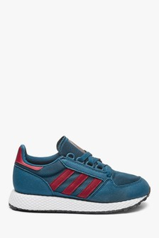 adidas Originals Navy Forest Grove Youth Trainers