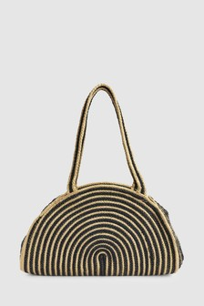 Jute Shoulder Bag