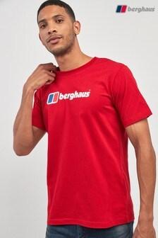 Футболка с крупным логотипом Berghaus
