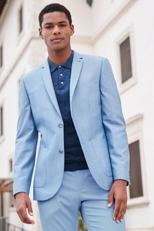 Cotton Blend Suit