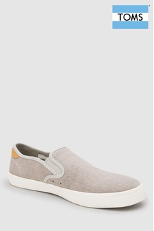 Toms Grey Slip-On Shoe