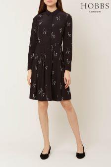 Hobbs Black Sophie Dress
