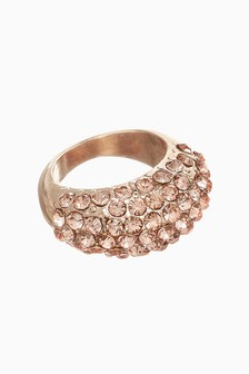 Sparkle Chunky Ring