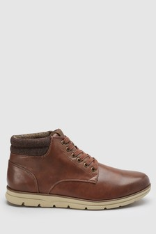 Mid Top Collar Boot