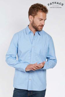 FatFace Blue Salen Plain Shirt