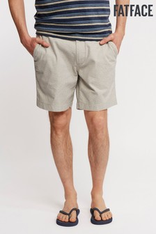 FatFace Grey Newport Textured Chino Short