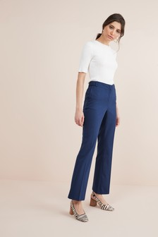 Tailored Boot Cut Trousers