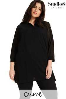 Studio 8 Black Jade Knitted Shirt