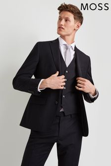Moss 1851 Performance Tailored Fit Jacke, schwarz