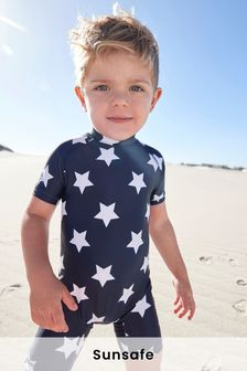 חליפת כוכבים עם הגנה מפני שמש (3 חודשים-7 שנים)
