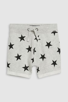 Star All Over Print Shorts (3mths-7yrs)