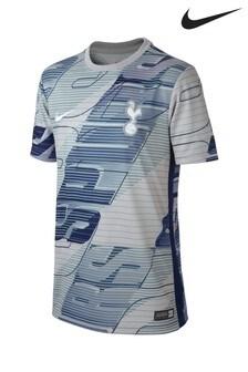 Nike Dri-FIT Tottenham Hotspur Football Club Grey Pre Tee