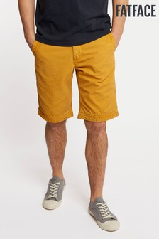 FatFace Yellow Cove Flat Front Short