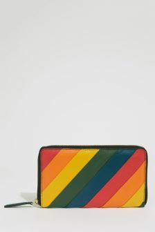 Warehouse Rainbow Panel Wallet