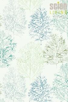 Scion Green Soetsu Wallpaper