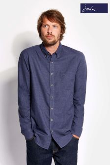 Joules Navy Classic Fit Plain Shirt