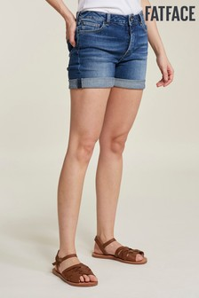 FatFace Blue Clean Denim Short