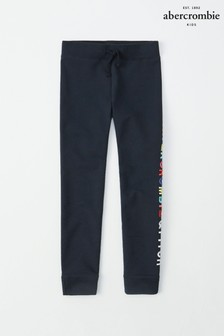 Abercrombie & Fitch Navy Core Logo Jogger