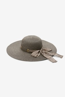 Фетровая шляпа с эффектом металлик