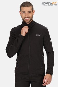 Regatta Black Highton Lite Full Zip Softshell Jacket