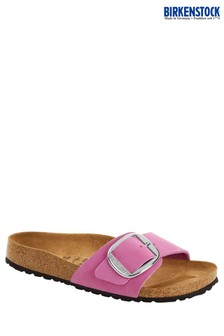 Birkenstock® Pink Big Buckle Sandals