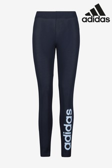 adidas Navy Linear Leggings