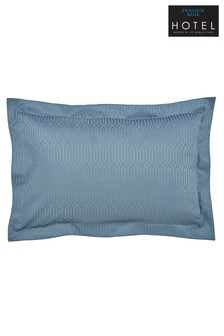Peacock Blue Hotel Rivage Pillowcases