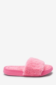 Faux Fur Sliders (Older)