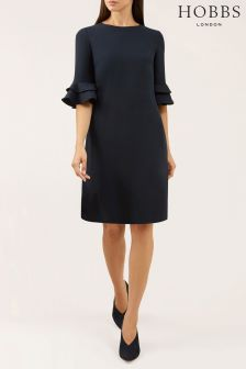 Hobbs Blue Frances Dress