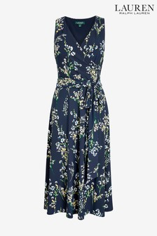 Lauren Ralph Lauren® Navy Carana Floral Dress