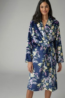 4deb472120 Buy Women s nightwear Nightwear Blue Blue Robes Robes from the Next ...