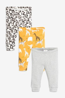Animals Leggings Three Pack (0mths-2yrs)