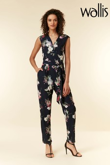 Wallis Blue Blossom Jumpsuit