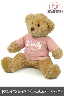 Personalised Teddy Bear by Instajunction