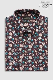 Liberty Fabrics Forest Road Regular Fit Shirt