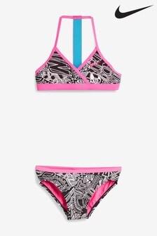 Nike Doodle Print T-Back Bikini