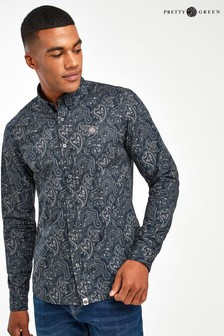 Pretty Green Lescott Paisley Shirt