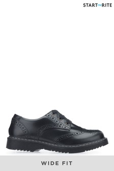 Start-Rite Impulsive Black Leather Shoes