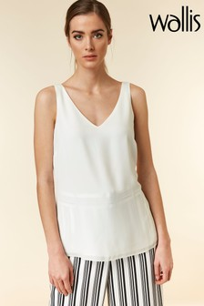 Wallis Cream V-Neck Cami