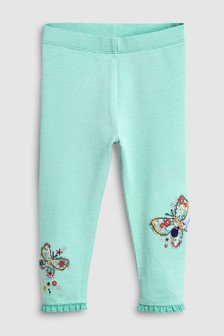 Butterfly Embellished Leggings (3mths-7yrs)