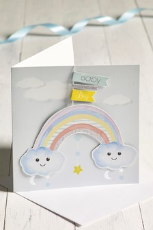 Baby Boy Keepsake Card