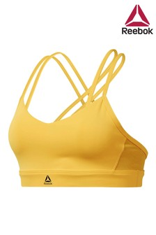 Reebok Gold Hero Strappy Bra