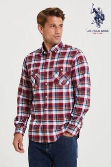 Chemise à carreaux U.S. Polo Assn. Forrest