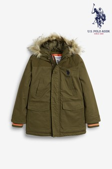 U.S. Polo Assn. Champion Parka