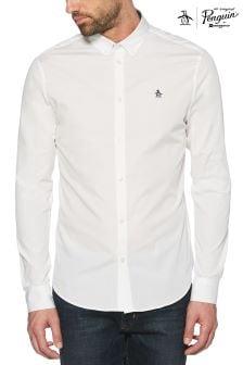 Original Penguin® Bright White Poplin Shirt