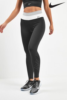 Nike Power Black Colourblock 7/8 Leggings