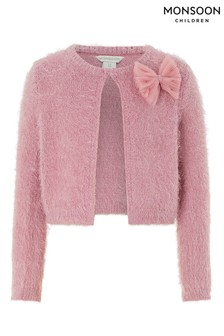Monsoon Rose Pink Fluffy Cardi